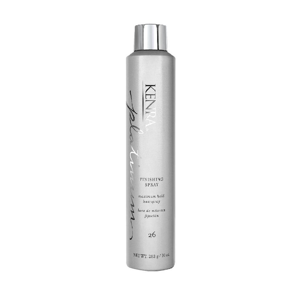 """""""The perfect finishing touch for your hair before you head out for work or a fun night out. Locks your hair in place while keeping it natural-looking and ready to stand up to the elements like the cold winds of January, ear muffs, etc."""""""