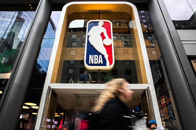 The NBA suspended its season after Utah Jazz center Rudy Gobert tested positive for the coronavirus. (Jeenah Moon/Getty Images)