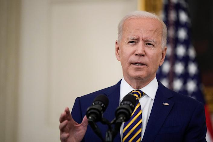 President Joe Biden and a bipartisan group of senators are trying to agree on a way to pay for a massive infrastructure plan.