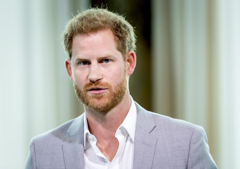 Prince Harry pictured in amsterdam