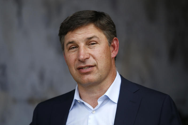 LOS ANGELES, CALIFORNIA - SEPTEMBER 15: SoFi CEO Anthony Noto looks on before the game between the Los Angeles Rams and the New Orleans Saints at Los Angeles Memorial Coliseum on September 15, 2019 in Los Angeles, California. (Photo by Sean M. Haffey/Getty Images)