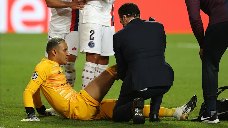 PSG confirm Keylor Navas doubtful for Champions League semi-final with hamstring injury