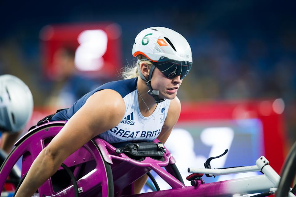 Kinghorn, 25, will be bidding to build on her T53 100m fifth-place finish at Rio 2016 in Tokyo