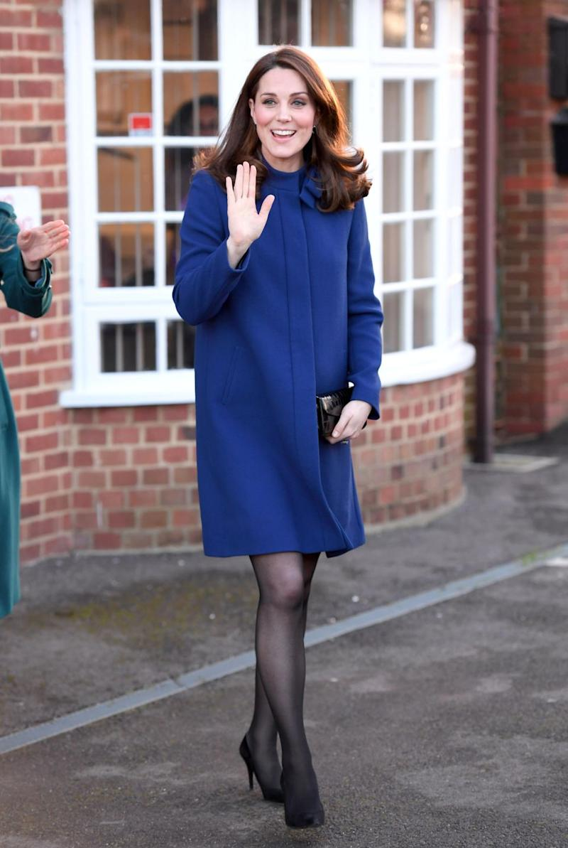 The Duchess was opening a treatment centre. Photo: Getty