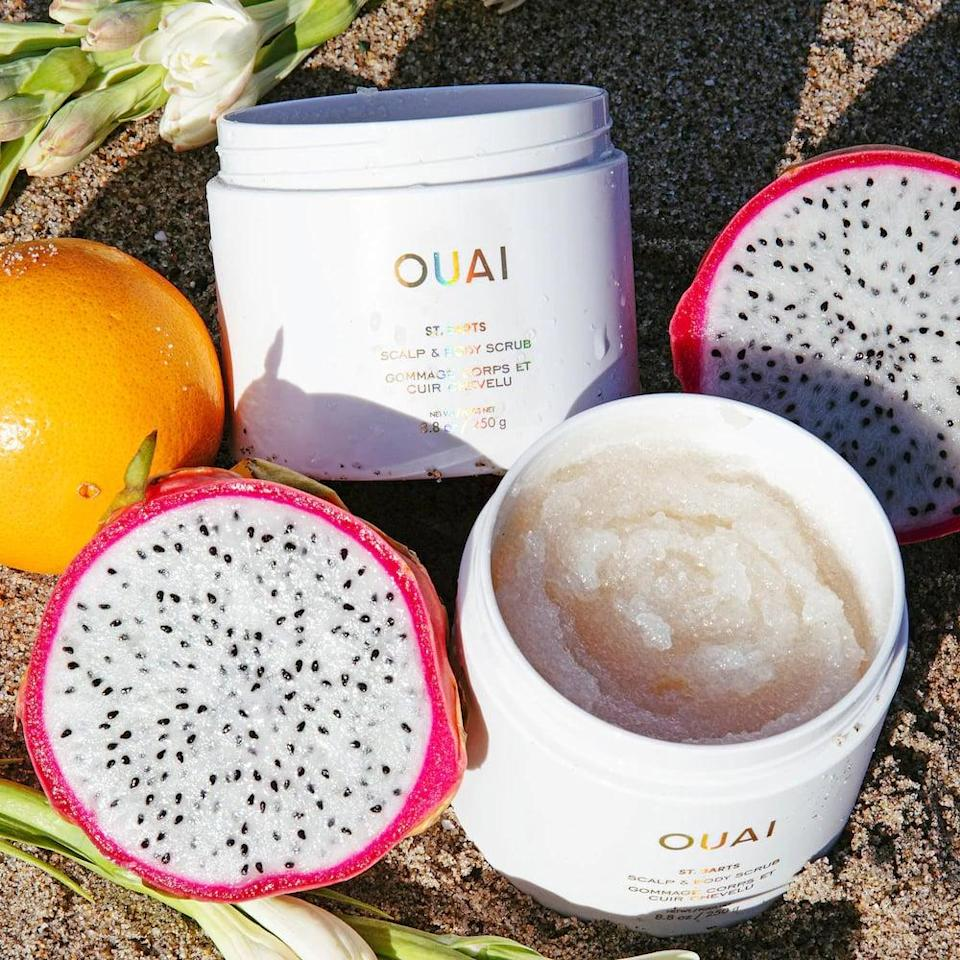 <p>This <span>Ouai St. Barts Scalp &amp; Body Scrub</span> ($38) smells like a tropical vacation, and Ouai is donating to the LA LGBT Center in honor of this launch.</p>