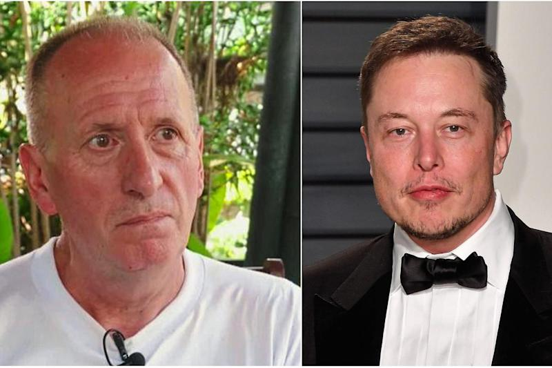 Legal threat: Diver Vernon Unsworth may take legal action against Elon Musk: Getty Images