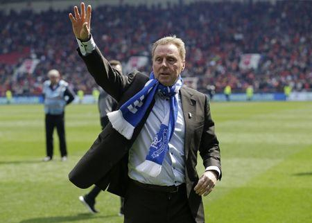 Britain Soccer Football - Bristol City v Birmingham City - Sky Bet Championship - Ashton Gate - 7/5/17 Birmingham City manager Harry Redknapp celebrates avoiding relegation after the game. Action Images / Henry Browne Livepic