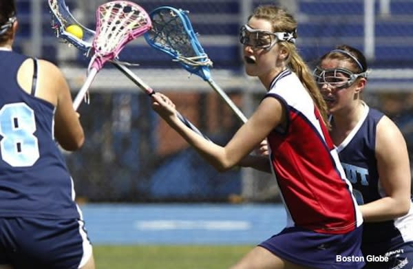 Central Catholic girls lacrosse star Taylor O'Neil