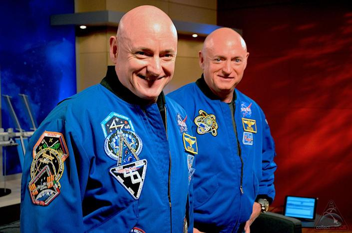 Former NASA astronauts and identical twins Scott and Mark Kelly are being honored with the renaming of their elementary school in West Orange, New Jersey.