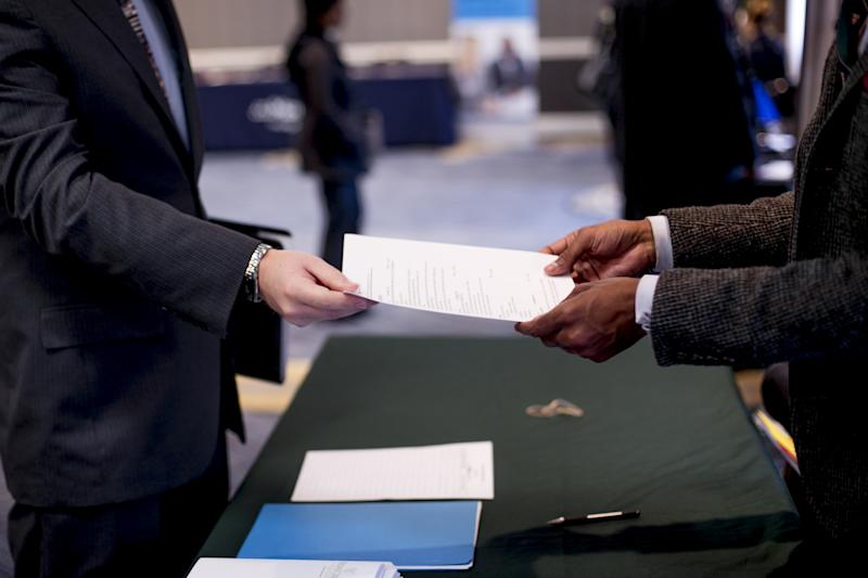 Inside A National Career Fairs Event Ahead Of Initial Jobless Claims