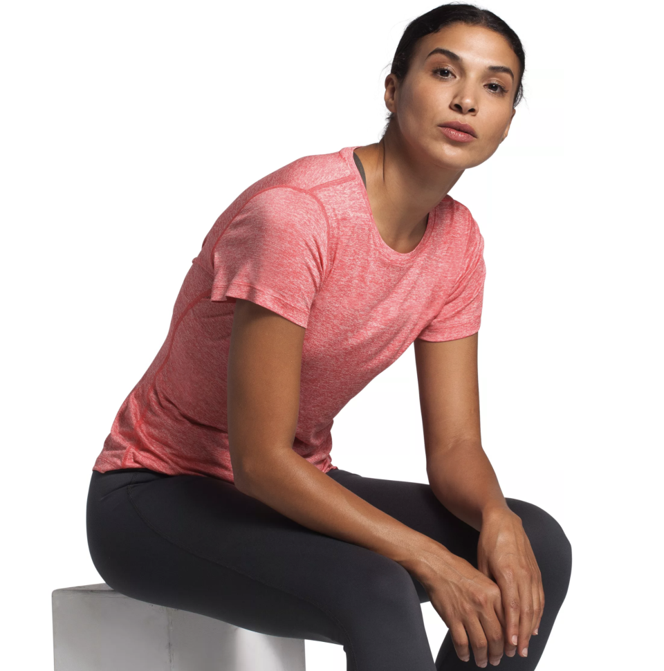 This tee is available in three summery shades. (Photo: The North Face)