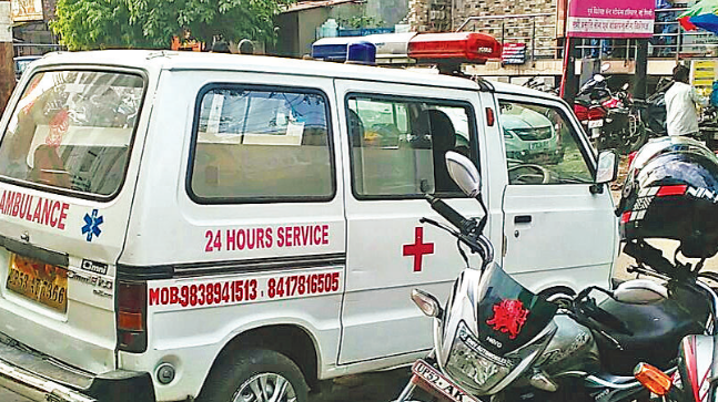 After numerous complaints from across the state about ambulances being used to ferry commuters rather than patients, the transport department decided to solve the menace and launched a statewide crackdown.