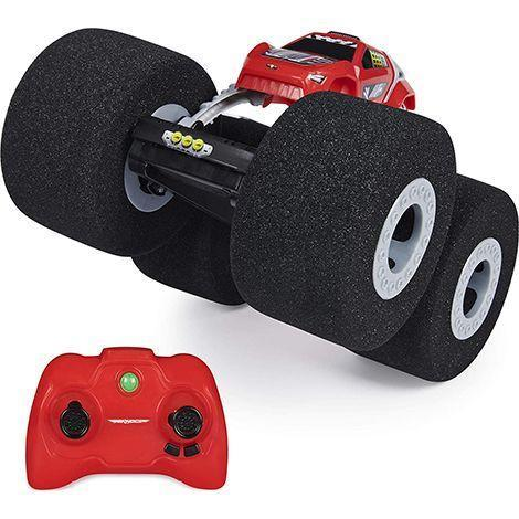 """<p><strong>Air Hogs</strong></p><p>amazon.com</p><p><strong>$38.69</strong></p><p><a href=""""https://www.amazon.com/dp/B084BMXHLH?tag=syn-yahoo-20&ascsubtag=%5Bartid%7C10055.g.26859132%5Bsrc%7Cyahoo-us"""" rel=""""nofollow noopener"""" target=""""_blank"""" data-ylk=""""slk:Shop Now"""" class=""""link rapid-noclick-resp"""">Shop Now</a></p><p>With its big, soft wheels, this remote-controlled car is meant to be driven inside the house. Its wheels are large enough to roll over obstacles and carpets, but squishy enough so they don't damage walls or furniture. Ages 5+</p><p><strong>RELATED:</strong> <a href=""""https://www.goodhousekeeping.com/childrens-products/toy-reviews/a34370433/good-housekeeping-toy-awards-2020/"""" rel=""""nofollow noopener"""" target=""""_blank"""" data-ylk=""""slk:The 2020 Good Housekeeping Best Toy Awards"""" class=""""link rapid-noclick-resp"""">The 2020 Good Housekeeping Best Toy Awards</a></p>"""