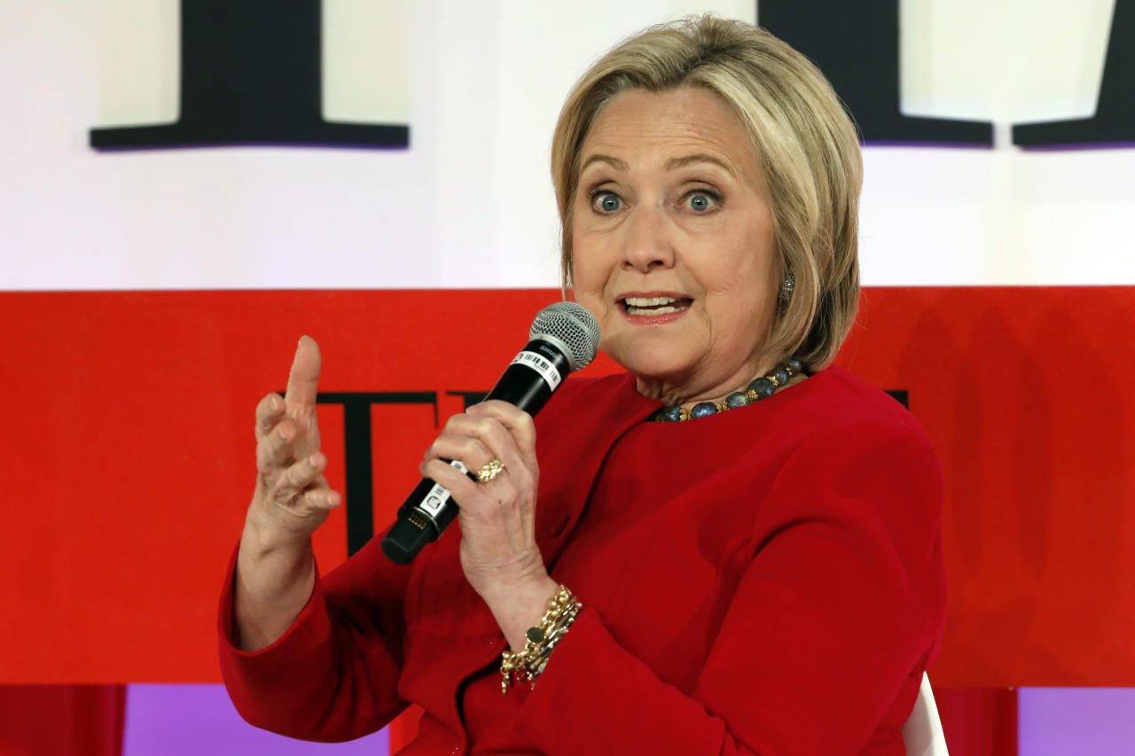 Democrats' 2020 race has a new shadow: Hillary Clinton