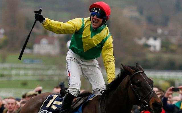 Robbie Power wins the Gold Cup on Sizing John - Andrew Boyers/Action Images