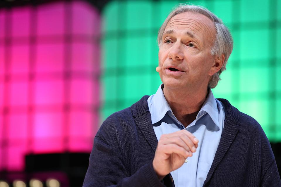 Bridgewater Associates Founder, Co-Chief Investment Officer & Co-Chairman Ray Dalio speaks during the Web Summit 2018 in Lisbon, Portugal on November 7, 2018. ( Photo by Pedro Fiúza/NurPhoto via Getty Images)