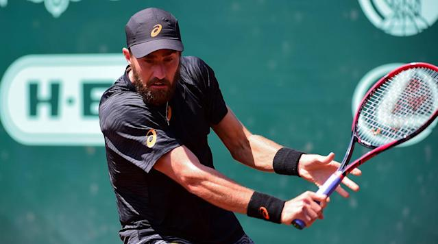 HOUSTON (AP) Fourth-seeded Steve Johnson beat top-seeded Jack Sock 4-6, 6-4, 6-3 on Saturday in an all-American semifinal in the U. S.
