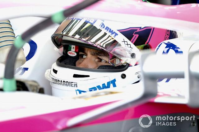 "Sergio Perez, Racing Point <span class=""copyright"">Jerry Andre / Sutton Images</span>"