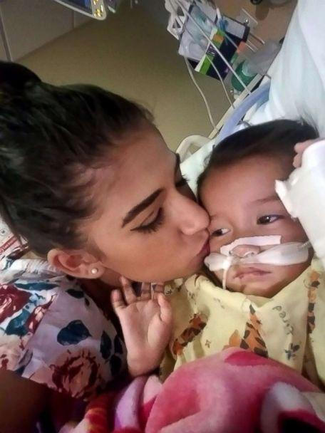 PHOTO: After they were released from ICE custody, Yazmin Juarez took her daughter Mariee to a hospital in New Jersey, where she died several weeks later. (Yazmin Juarez)