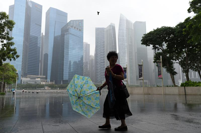 Thundery showers expected until end of April, but weather will remain warm in Singapore