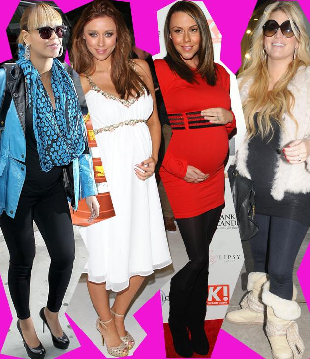 Who said fashion wasn't for mums-to-be? If Victoria Beckham is any example than having a growing bump is just another excuse to dress differently. See these pregnant celebs follow in her fashionable (with baby) footsteps