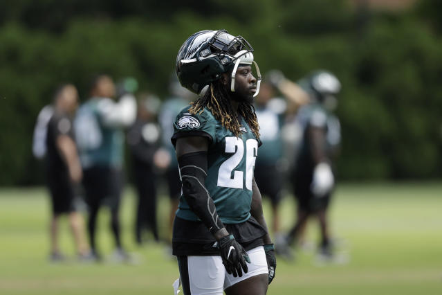 Jay Ajayi is ready for a greater workload, if the Eagles' coaches are willing. (AP Photo/Matt Slocum)