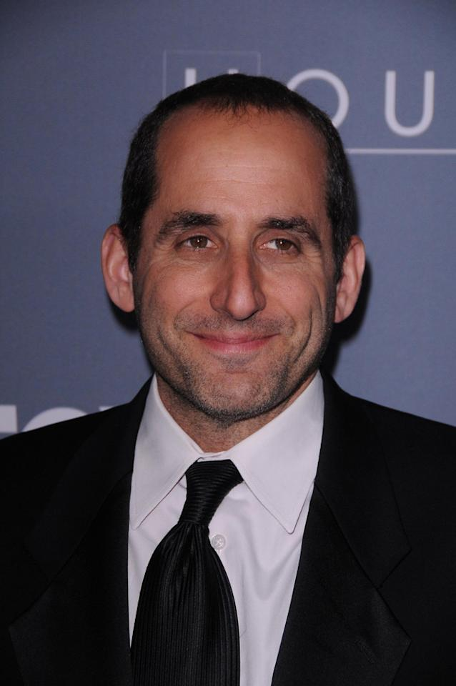 "Peter Jacobson arrives at the ""<a target=""_blank"" href=""http://tv.yahoo.com/house/show/36106"">House</a>"" Series Finale Wrap Party on Friday, April 20, 2012 at Cicada in downtown Los Angeles, California."