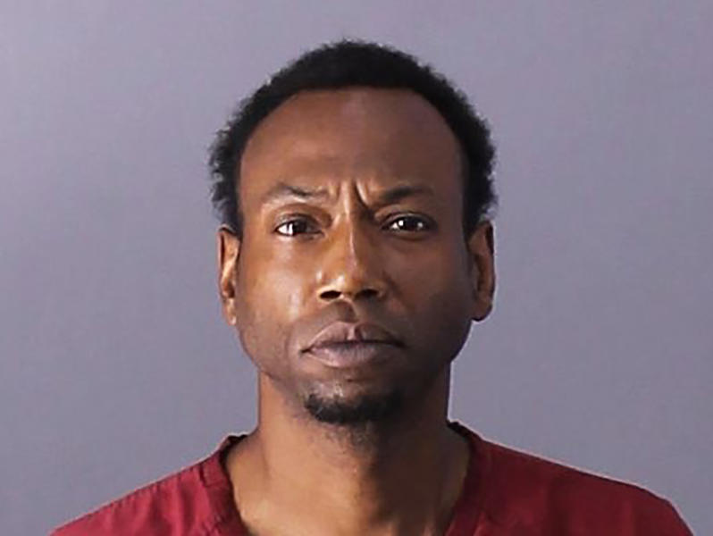 This undated photo provided by the Birmingham Police Department shows Patrick Devone Stallworth. Police say 3-year-old Kamille McKinney was playing outside at a birthday party on Saturday, Oct. 12, 2019, when she was abducted by someone in a dark SUV. Investigators say they've since located the vehicle and arrested on Sunday two people, Stallworth, 39, of Birmingham, Ala., and Derrick Irisha Brown, 29, also of Birmingham, on unrelated charges to the kidnapping of the little girl everyone calls Cupcake. (Birmingham Police Department via AP)