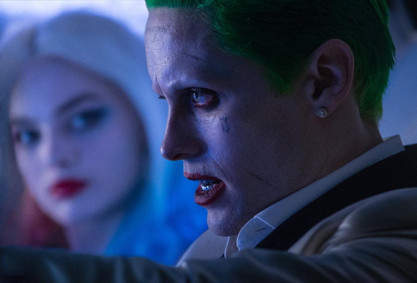 Margot Robbie's Harley Quinn with Jared Leto's Joker in 2016's Suicide Squad. (Warner Bros.)