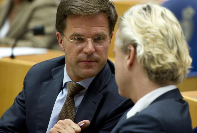 Dutch Prime Minister Mark Rutte will go head-to-head with his main rival Geert Wilders