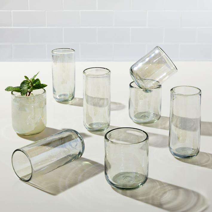 "This recycled glassware would look right at home on your giftee's reclaimed wood shelf. $42, West Elm. <a href=""https://www.westelm.com/products/mexican-luster-glassware-d7970/?"" rel=""nofollow noopener"" target=""_blank"" data-ylk=""slk:Get it now!"" class=""link rapid-noclick-resp"">Get it now!</a>"
