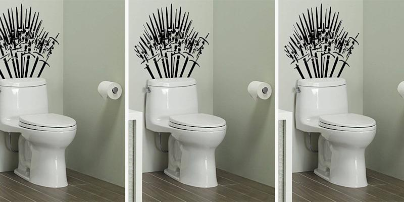 Turn Your Toilet Into The Iron Throne With This Game Of