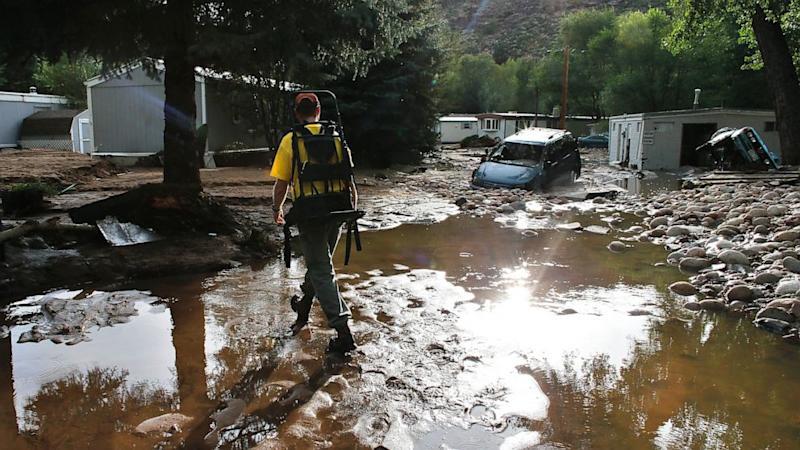 Rescuers, Residents Shaken by Rising Colorado Floodwaters