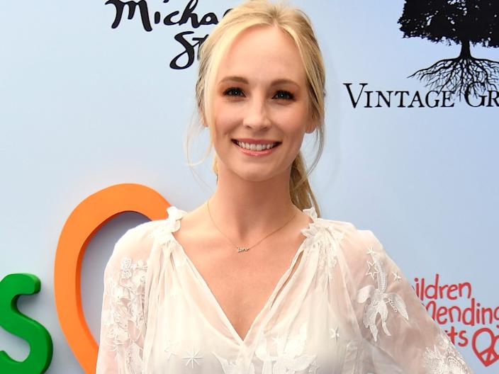 """Candice King in June 2018. <p class=""""copyright"""">Frazer Harrison/Getty Images</p>"""