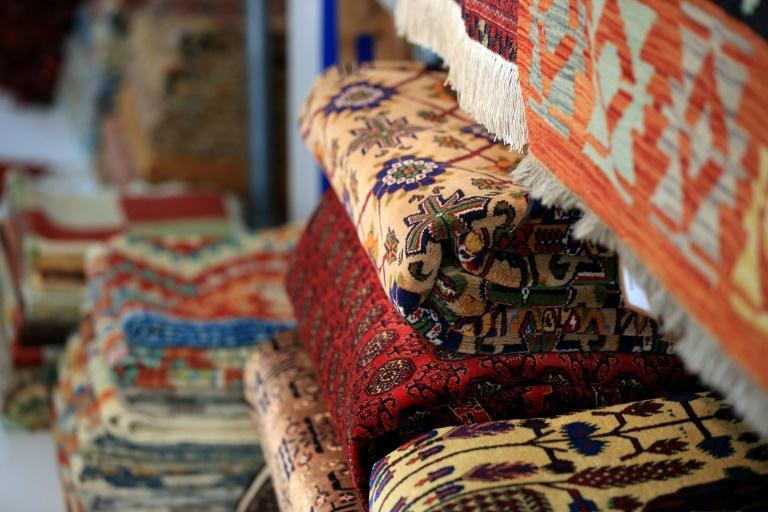 Afghan rugs are a major commodity and the country's second largest non-agricultural export, according to the World Trade Organization