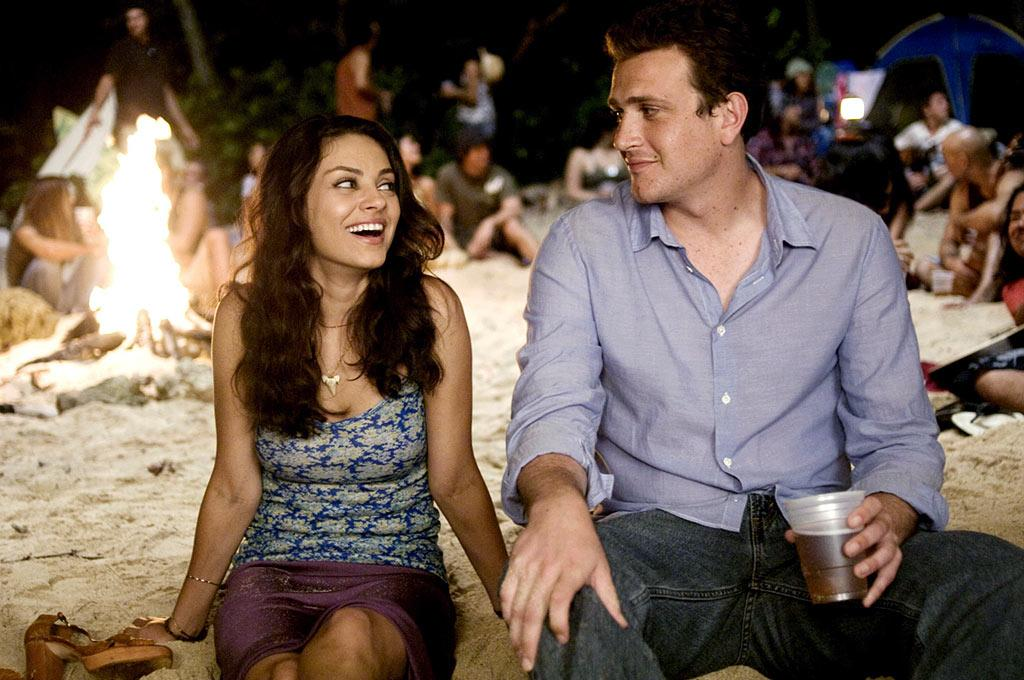 "On the opposite end of the movie couple spectrum were Jason Segel's Peter and Mila Kunis' Rachel from the 2008 flick ""Forgetting Sarah Marshall."" These two kept us laughing, especially when they tried to make his ex-girlfriend jealous, and they left us crossing our fingers that Rachel was more than Peter's rebound chick. Universal/courtesy Everett Collection"