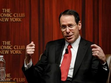 AT&T CEO says the Time Warner deal would lower pay TV rates rather than increasing them