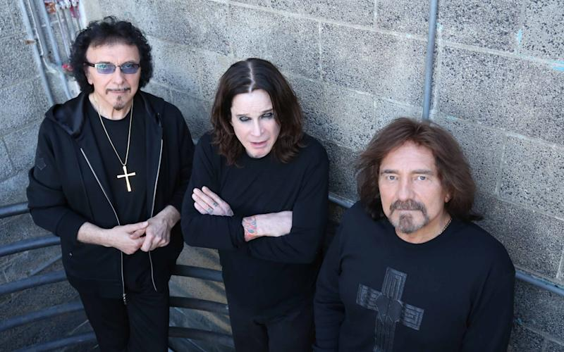 One of a kind: heavy metal heads Ozzy Osbourne, Geezer Butler and Tony Iommi - Robert Voets