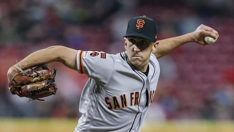 Pomeranz, Giants go for series win over Reds in Cincinnati