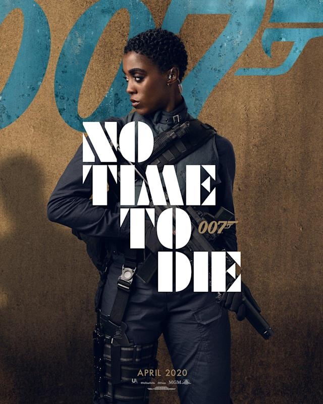 Lashana Lynch's MI6 agent Nomi is rumoured to have assumed the 007 mantle in James Bond's absence after he disappeared from action at the end of <em>SPECTRE</em>. She certainly looks the part here.(Universal Pictures)