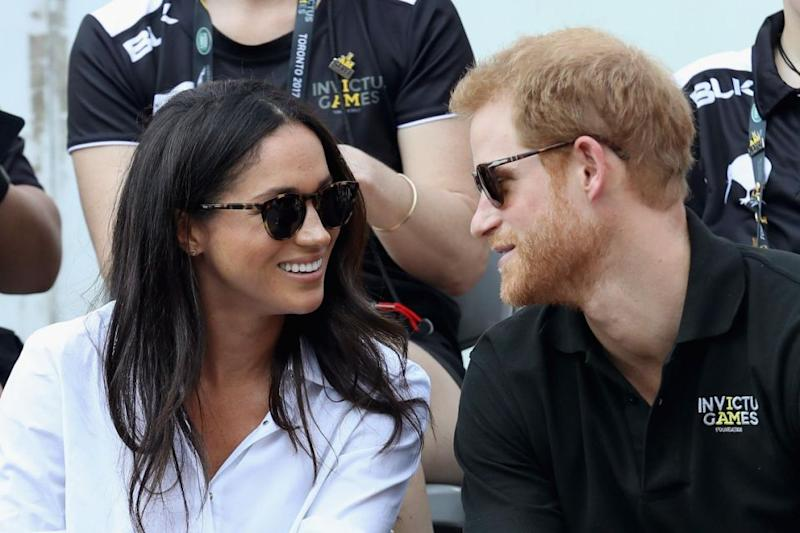 All eyes have been on Prince Harry and Meghan as engagement rumours swirl. Photo: Getty