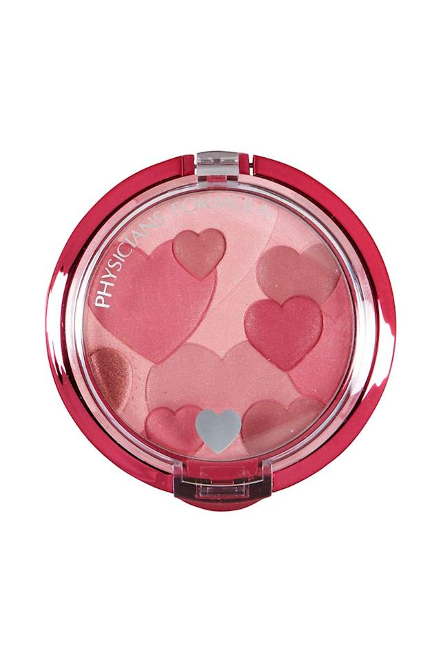 "<p><strong>Physicians Formula</strong></p><p>amazon.com</p><p><strong>$8.96</strong></p><p><a href=""http://www.amazon.com/dp/B004HYNCA0/?tag=syn-yahoo-20&ascsubtag=%5Bartid%7C10058.g.28413197%5Bsrc%7Cyahoo-us"" target=""_blank"">SHOP IT</a></p><p>We're definitely heart-eyed over this compact, which has reflective pearls to give your cheeks a vibrant rosiness. Fun fact: It's made with natural plant extracts and violet scents that are said to create a rush of endorphins upon application.</p>"