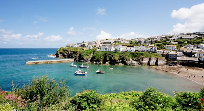 Port Isaac in Cornwall, England (Getty)