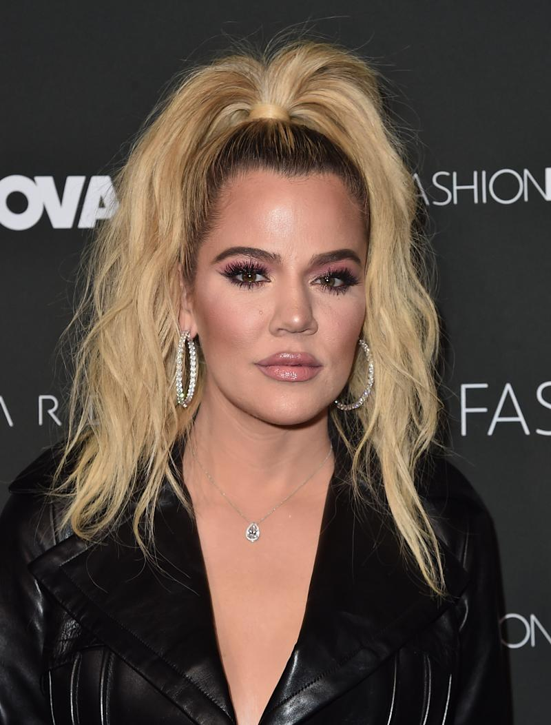 Khloe has spoken out claiming she was unaware of the relationship status. Photo: Getty Images