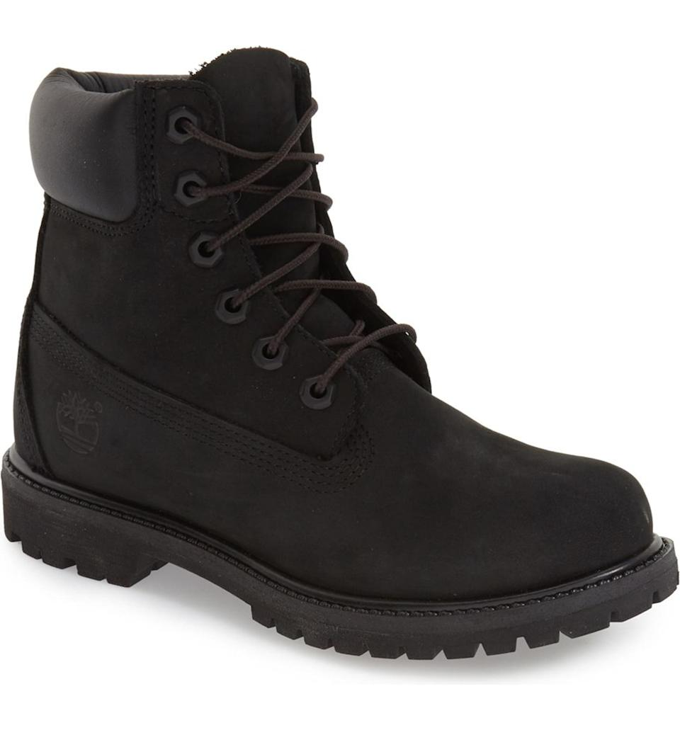 Timberland 6-Inch Premium Waterproof Boots are Nordstrom shopper-approved. Image via Nordstrom.