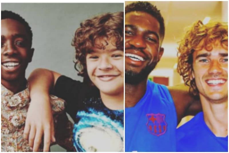 Bengali Newspaper Confused Stranger Things' Dustin, Lucas with Footballers Greizmann and Umtiti