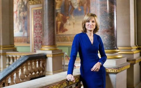 Fiona Bruce presents Antiques Roadshow which is broadcast on Sundays from 8pm - Credit: Anna Gordon