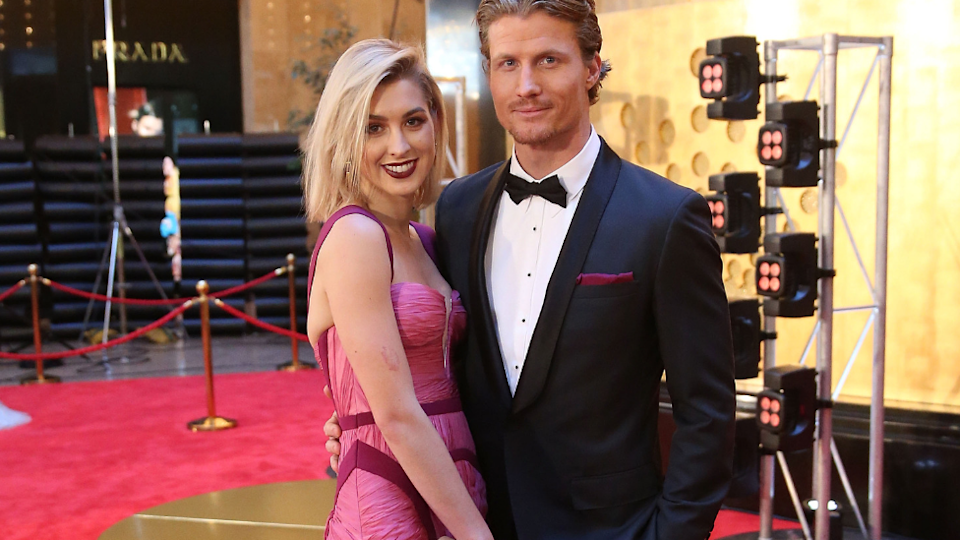 Alex Nation and Richie Strahan are reuniting… on Bachelor In Paradise. Source: Getty