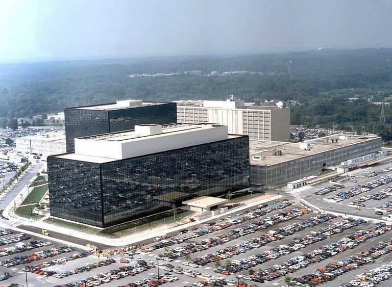 This undated handout image received on January 25, 2006 shows the National Security Agency (NSA) at Fort Meade, Maryland. French President Francois Hollande has told the United States to immediately cease spying on European institutions, after reports of covert US surveillance of EU diplomatic missions