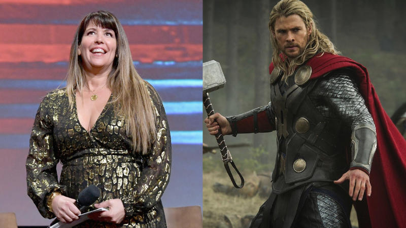 Patty Jenkins stepped down from directing 'Thor: The Dark World'. (Credit: Emma McIntyre/Getty Images for WarnerMedia/Marvel)